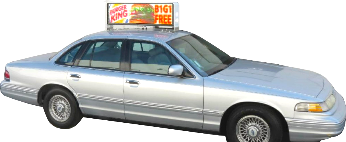 Taxi Top Digital Signage