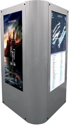 Icon Triple Digital Signage Enclosure Insight Digital