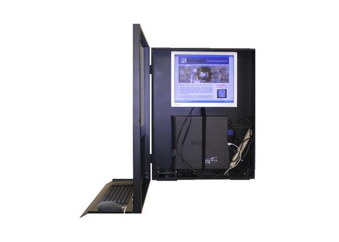 Computer Enclosure Cabinet   Industrial Computer Enclosure
