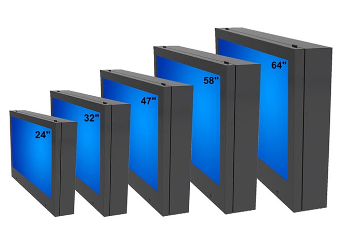 Products - Outdoor LCD TV Enclosures | Insight Digital Signage