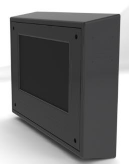 Sloped Top LCD Enclosures